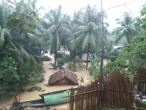2-Ciclone in Rakhine state. Sho me.