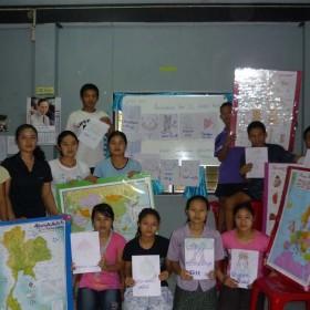 4- IAI  Insegnare-italy-mae-sariang-teaching-uncr-refugee-camp-moses-patrizia-saccaggi