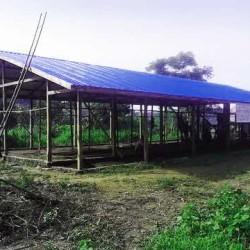 Completamento tetto - Scuola di Ivano