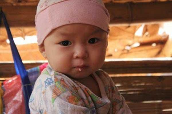 Bambina Ostello protetto