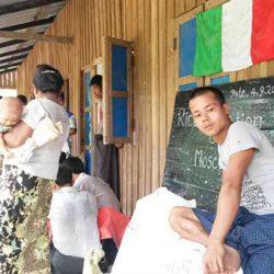 Comunità di Sho Me colpita dal ciclone