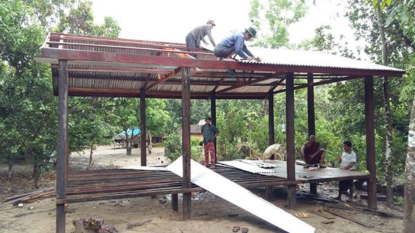 Costruzione Scuola della Pioggia
